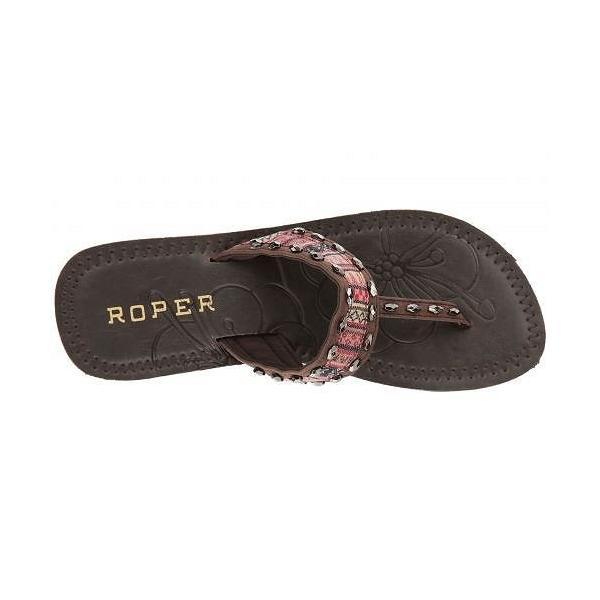 Roper ローパー レディース 女性用 シューズ 靴 サンダル Debbie - Brown