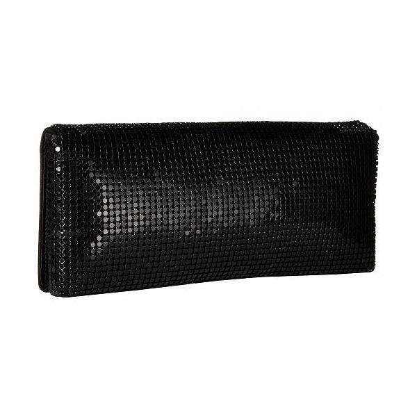 Jessica McClintock ジェシカマクリントック レディース 女性用 バッグ 鞄 ハンドバッグ クラッチ Metal Mesh Flap - Black
