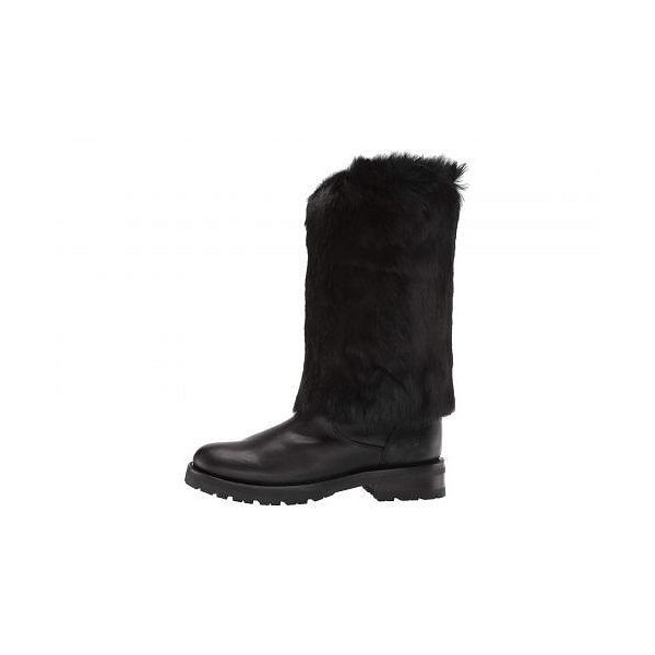 Frye フライ レディース 女性用 シューズ 靴 ブーツ ミッドカフ Natalie Cuff Lug - Black