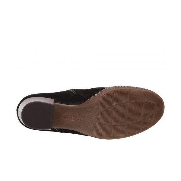 Gabor ガボール レディース 女性用 シューズ 靴 ブーツ アンクルブーツ ショート Gabor 96.661 - Black