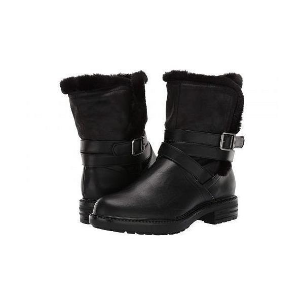 Report レポート レディース 女性用 シューズ 靴 ブーツ アンクルブーツ ショート Nesta - Black