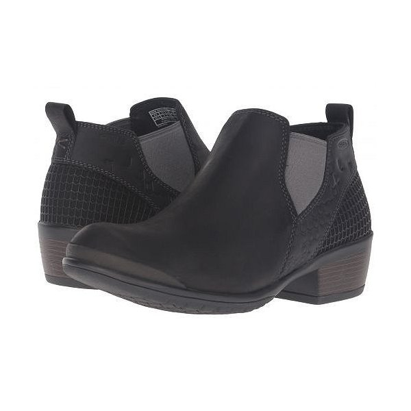 Keen キーン レディース 女性用 シューズ 靴 ブーツ チェルシーブーツ アンクル Morrison Chelsea - Black