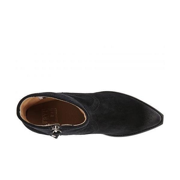 Frye フライ レディース 女性用 シューズ 靴 ブーツ アンクルブーツ ショート Sacha Short - Black