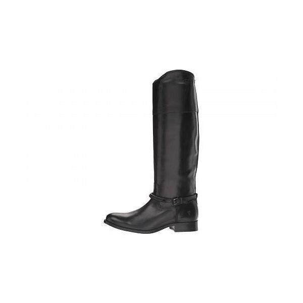 Frye フライ レディース 女性用 シューズ 靴 ブーツ ロングブーツ Melissa Seam Tall - Black