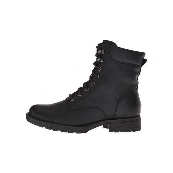 Born ボーン レディース 女性用 シューズ 靴 ブーツ レースアップブーツ Bay - Black