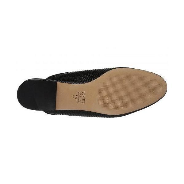 Schutz シュッツ レディース 女性用 シューズ 靴 クロッグ ミュール Avamel - Black