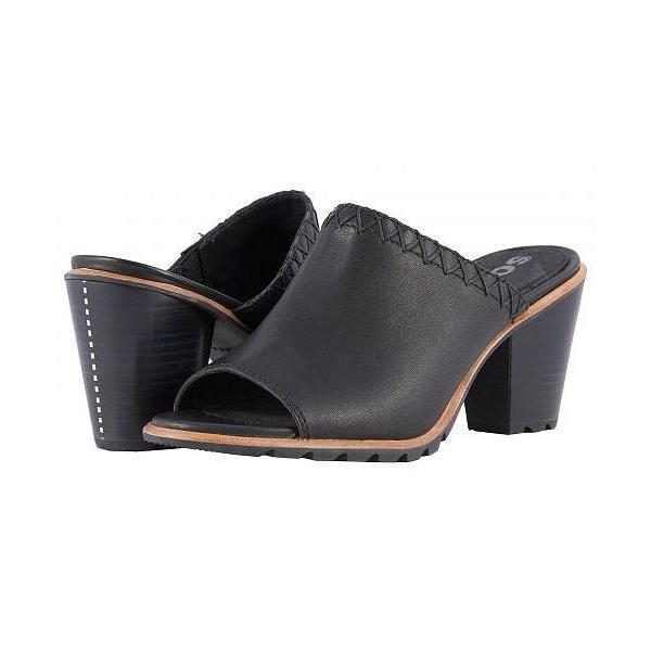 SOREL ソレル レディース 女性用 シューズ 靴 ヒール Nadia Mule - Black