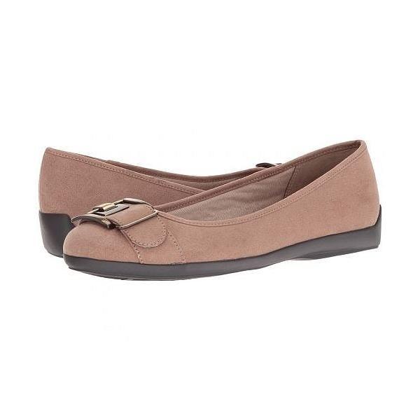 LifeStride ライフストライド レディース 女性用 シューズ 靴 フラット Fantell - Mushroom