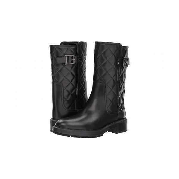 Aquatalia アクアタリア レディース 女性用 シューズ 靴 ブーツ ミッドカフ Layla - Black Calf