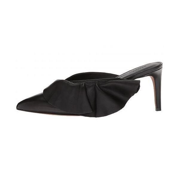 Rebecca Minkoff レベッカミンコフ レディース 女性用 シューズ 靴 ヒール Giov - Black Leather