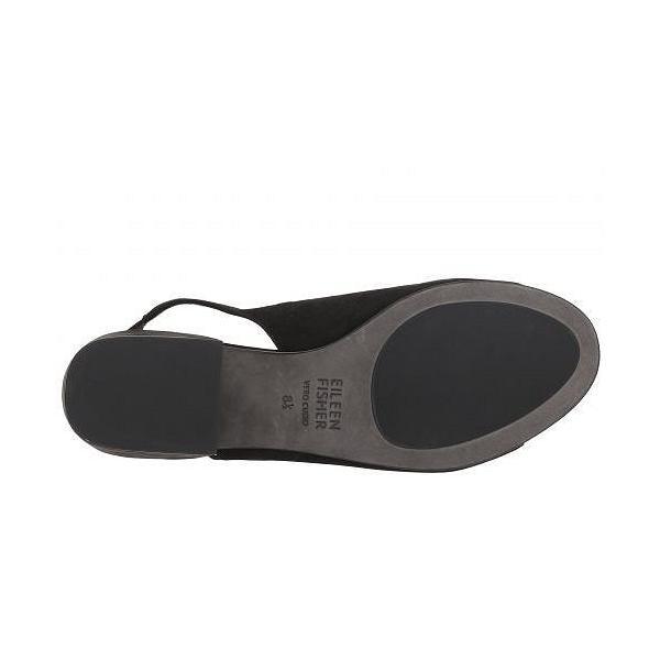 Eileen Fisher アイリーンフィッシャー レディース 女性用 シューズ 靴 ヒール Leigh - Black Nubuck