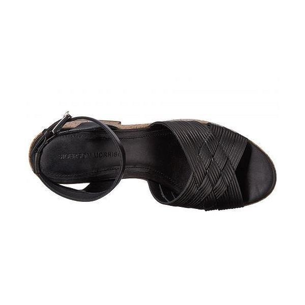Sigerson Morrison シガーソンモリソン レディース 女性用 シューズ 靴 ヒール Becca - Black Leather