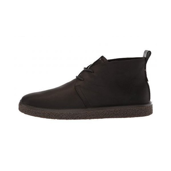 ECCO エコー レディース 女性用 シューズ 靴 ブーツ チャッカブーツ アンクル Crepetray Bootie - Black Nubuck Leather