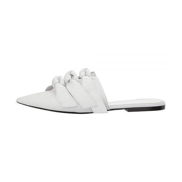 Proenza Schouler プロエンザスクーラー レディース 女性用 シューズ 靴 クロッグ ミュール Lamb Bow Flat Mule - White
