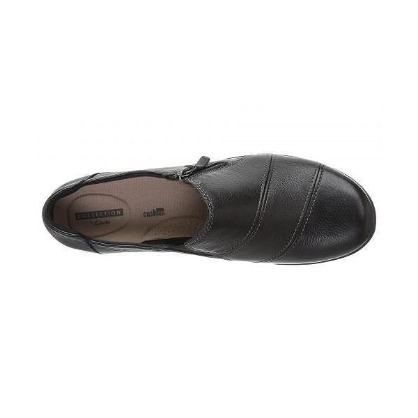 Clarks クラークス レディース 女性用 シューズ 靴 ローファー ボートシューズ Cheyn Clay - Black Leather