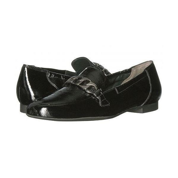 Paul Green ポールグリーン レディース 女性用 シューズ 靴 ローファー ボートシューズ Newcastle - Black Patent