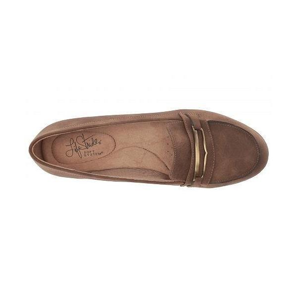 LifeStride ライフストライド レディース 女性用 シューズ 靴 ローファー ボートシューズ Phoebe - Tan