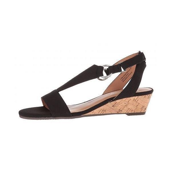 Aerosoles エアロソールズ レディース 女性用 シューズ 靴 ヒール Creme Brulee - Black Fabric