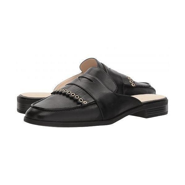 Cole Haan コールハーン レディース 女性用 シューズ 靴 クロッグ ミュール Pinch Kiltie Slide - Black Leather