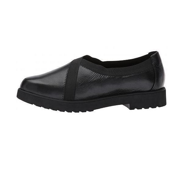 Clarks クラークス レディース 女性用 シューズ 靴 ローファー ボートシューズ Bellevue Cedar - Black Leather