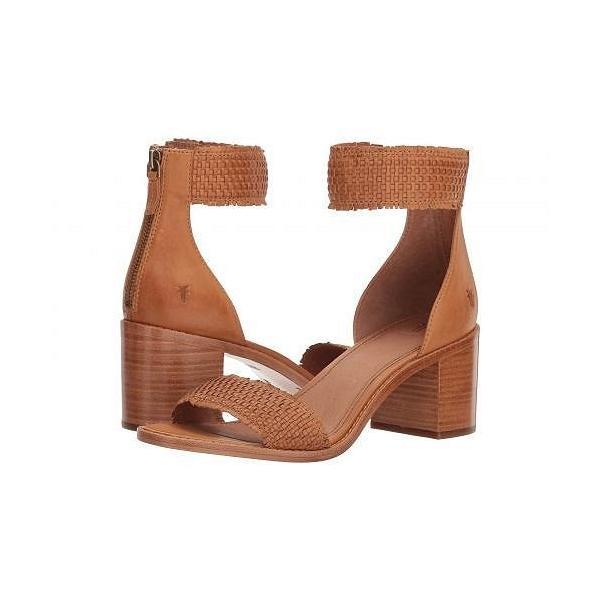 Frye フライ レディース 女性用 シューズ 靴 ヒール Bianca Woven Back Zip - Tan