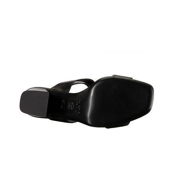 Via Spiga ヴィアスピーガ レディース 女性用 シューズ 靴 ヒール Evelia Heeled Sandal - Black Leather
