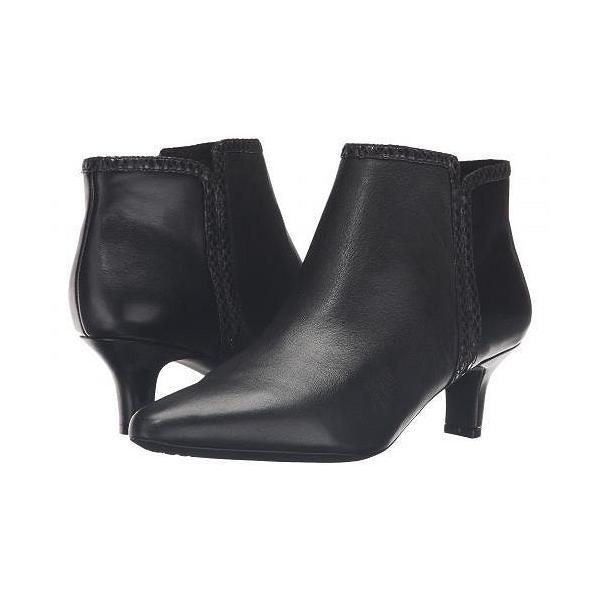 Rockport ロックポート レディース 女性用 シューズ 靴 ブーツ アンクルブーツ ショート Kimly Bootie - Black Leather