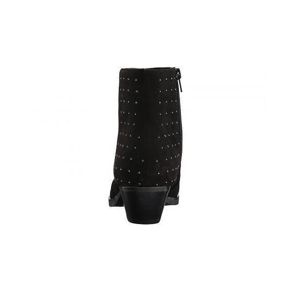 GUESS ゲス レディース 女性用 シューズ 靴 ブーツ アンクルブーツ ショート Velina - Black Fabric