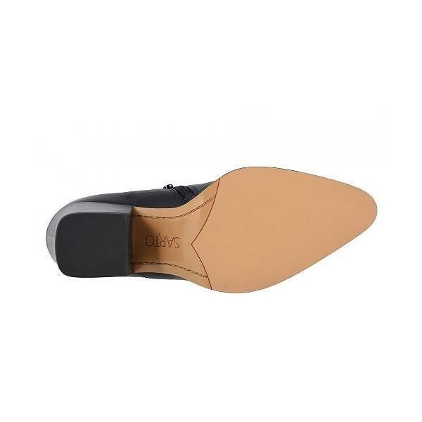 Franco Sarto フランコサルト レディース 女性用 シューズ 靴 ブーツ アンクルブーツ ショート Camella - Black Calf