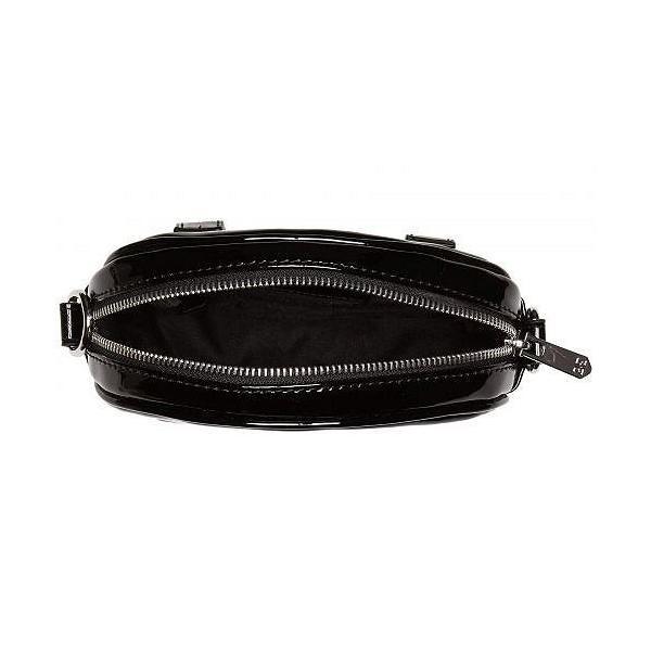 Sam Edelman サムエデルマン レディース 女性用 バッグ 鞄 ウエストポーチ Daisy Belt Bag/Crossbody - Black Patent