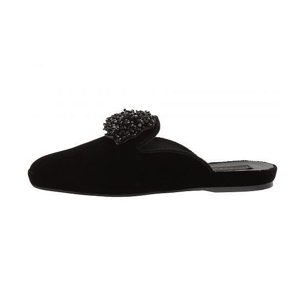 Donna Karan ダナキャラン レディース 女性用 シューズ 靴 クロッグ ミュール Cara Mule - Black Velvet
