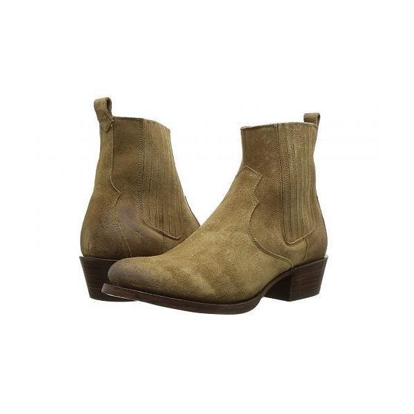 Frye フライ レディース 女性用 シューズ 靴 ブーツ チェルシーブーツ アンクル Diana Chelsea - Sand