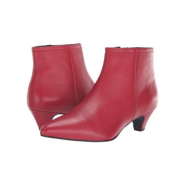 Seychelles セイシェルズ レディース 女性用 シューズ 靴 ブーツ アンクルブーツ ショート Biome Bootie - Red Leather