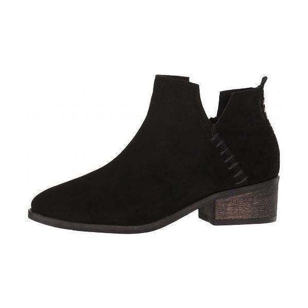 Diba True レディース 女性用 シューズ 靴 ブーツ アンクルブーツ ショート Vio Lyn - Black Suede
