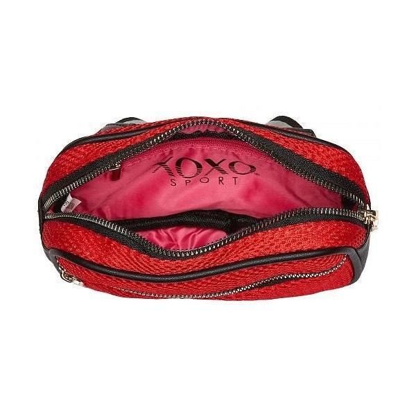 XOXO キスキス レディース 女性用 バッグ 鞄 ウエストポーチ Mesh Belt Bag - Red
