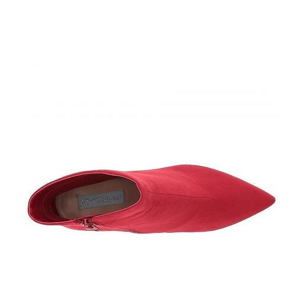 Blue by Betsey Johnson ベッティージョンソン レディース 女性用 シューズ 靴 ブーツ アンクルブーツ ショート Alesa - Red
