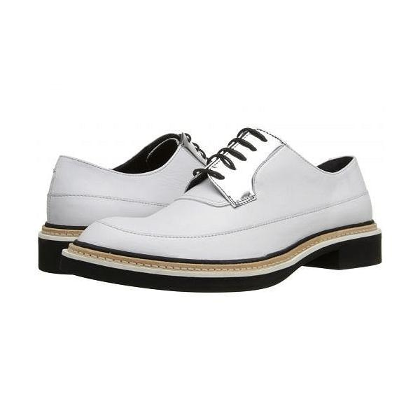McQ マックキュー レディース 女性用 シューズ 靴 オックスフォード 紳士靴 通勤靴 Columbia Lace-Up - White/Silver