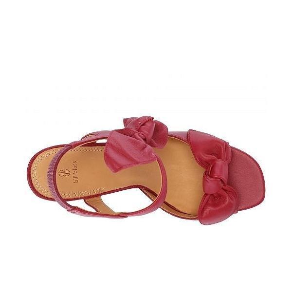 Bill Blass レディース 女性用 シューズ 靴 ヒール Carmen 90 - Red