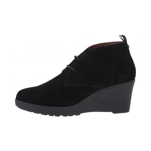 Donald J Pliner ドナルドジェープリナー レディース 女性用 シューズ 靴 ブーツ チャッカブーツ アンクル Nakka - Black Suede