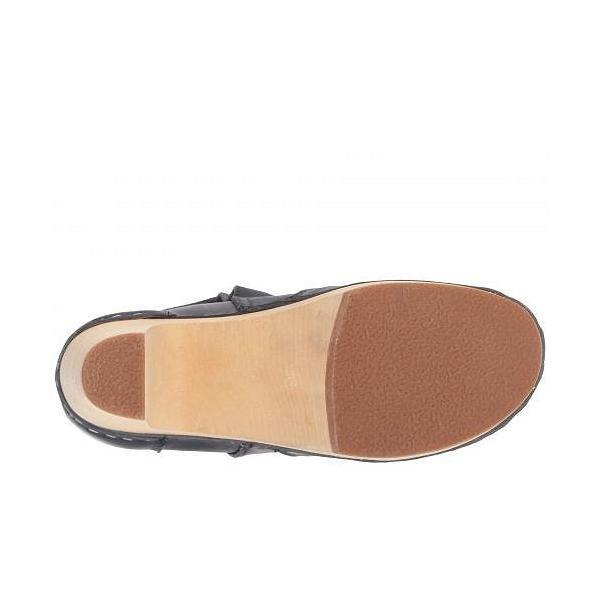 Swedish Hasbeens スウェディッシュハズビーンズ レディース 女性用 シューズ 靴 ブーツ アンクルブーツ ショート High Heeled Jodhpur - Dark Blue