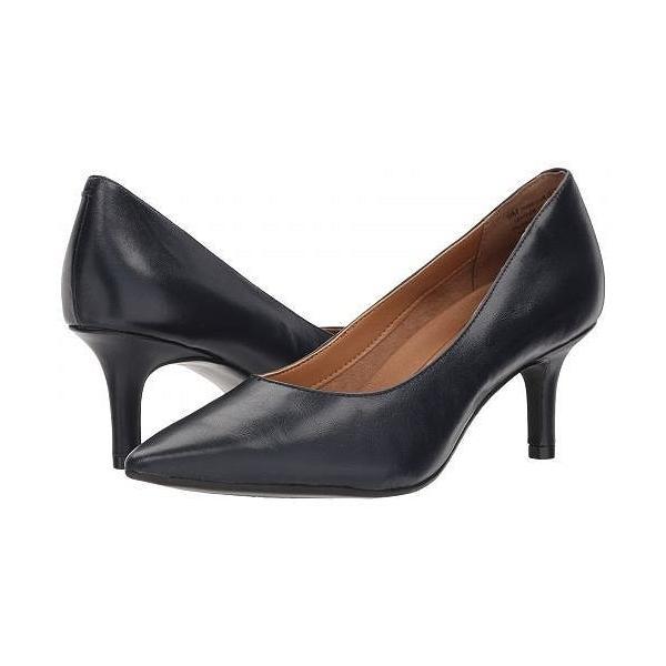 Aerosoles エアロソールズ レディース 女性用 シューズ 靴 ヒール Drama Club - Navy Leather