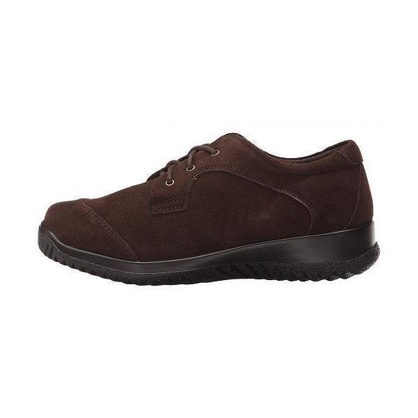 Drew ドリュー レディース 女性用 シューズ 靴 オックスフォード 紳士靴 通勤靴 Hope - Brown Suede