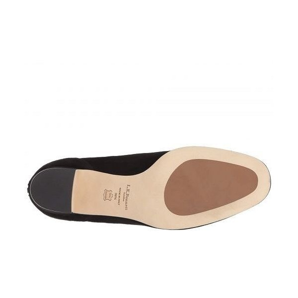 L.K. Bennett レディース 女性用 シューズ 靴 ブーツ アンクルブーツ ショート Alyss - Black Suede