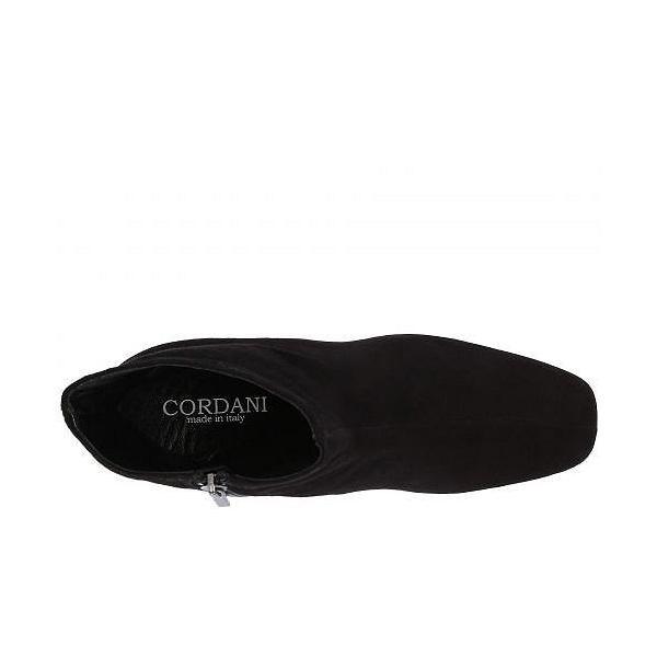 Cordani コルダーニ レディース 女性用 シューズ 靴 ブーツ アンクルブーツ ショート Noelle - Black Suede
