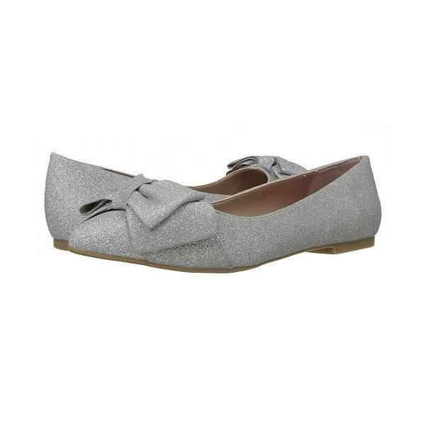 Blue by Betsey Johnson ベッティージョンソン レディース 女性用 シューズ 靴 フラット Cindi - Silver