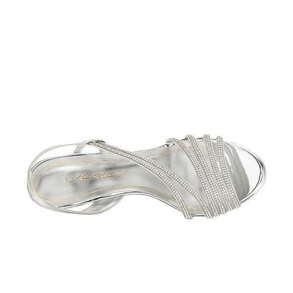 Caparros カパロス レディース 女性用 シューズ 靴 ヒール Gazelle - Silver Metallic