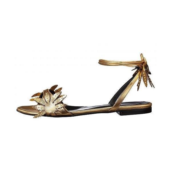 Eugene Riconneaus ユージーンリコノー レディース 女性用 シューズ 靴 サンダル Leafeetia Flat - Gold