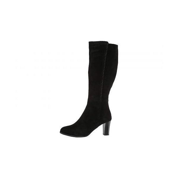 Blondo ブロンド レディース 女性用 シューズ 靴 ブーツ ロングブーツ Edith Waterproof - Black Suede