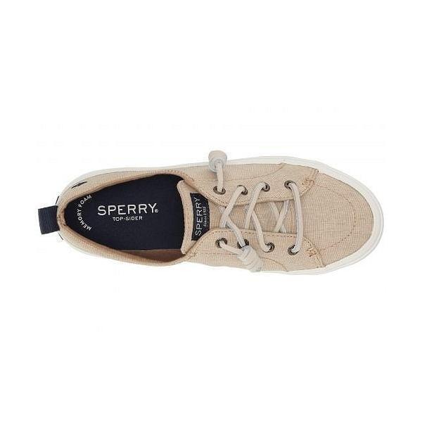 Sperry スペリー レディース 女性用 シューズ 靴 スニーカー 運動靴 Crest Vibe Washed Linen - Linen