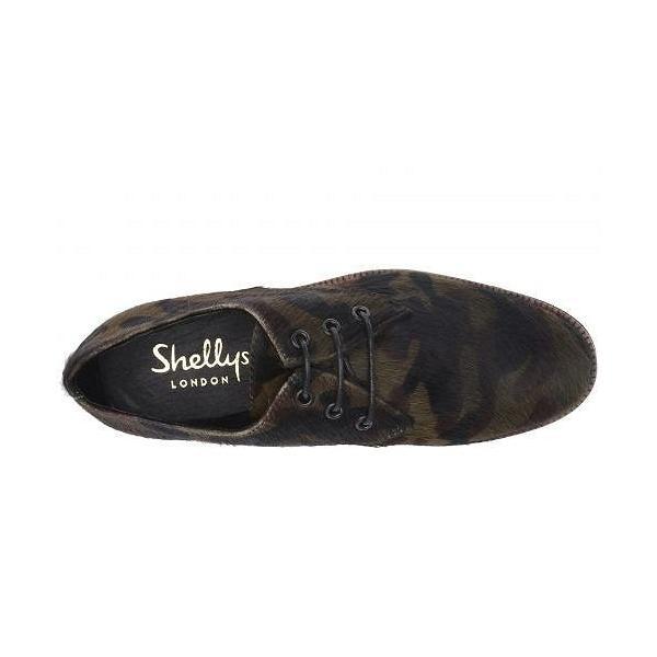 Shellys London シェリーズロンドン レディース 女性用 シューズ 靴 オックスフォード 紳士靴 通勤靴 Terrwyn Oxford - Camo